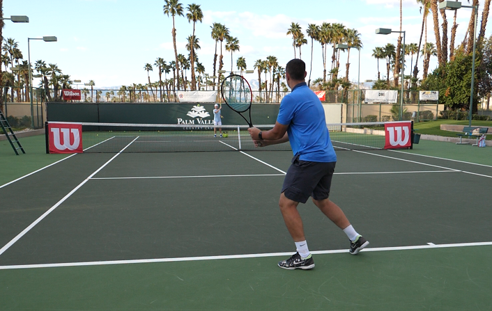 Tennis Backhand Slow Motion Two Handed Backhand Coaching Love Tennis