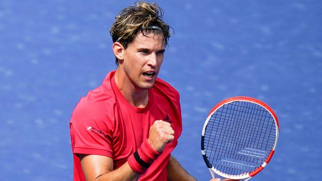US Open Thiem Sees Red Over Red Bull Can US Open Love